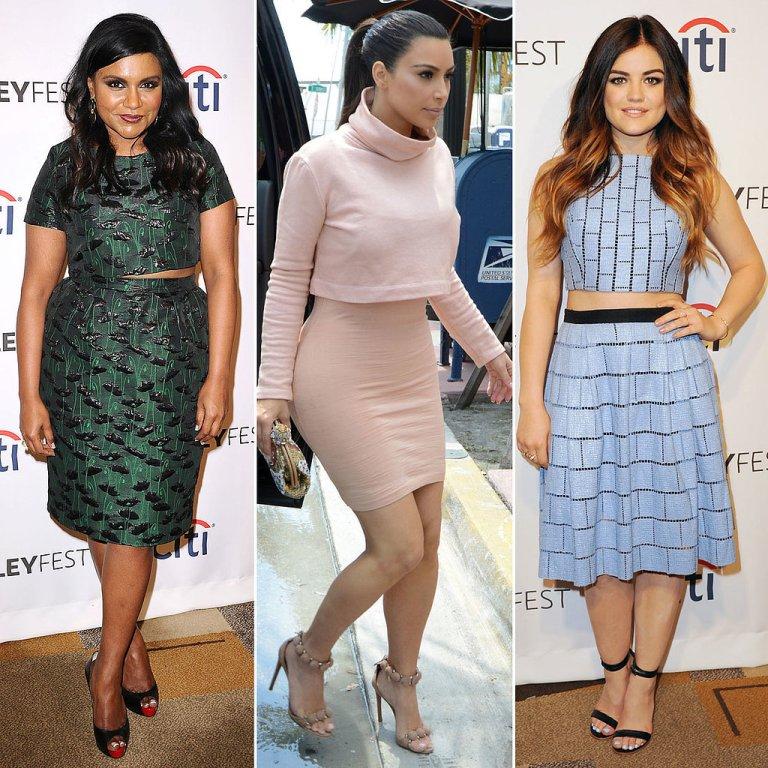 Crop-Top-Skirt-Sets