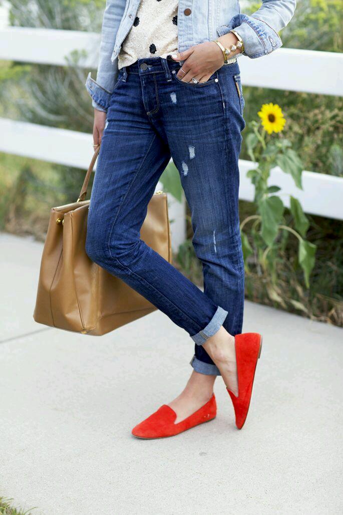 9 Ways To Wear Boyfriend Jeans – ShineXuan