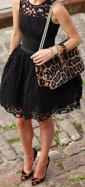 lbd, leopard prints